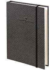 Faber-Castell 5075400804 Bambu Serisi A6 Ciltli Çizgili Koyu Gri Koyu Gri