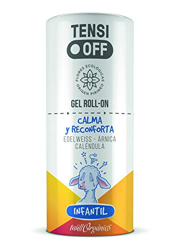 TENSI OFF Infantil Eco-certificado. Calma y reconforta. Gel roll-on 50 ml