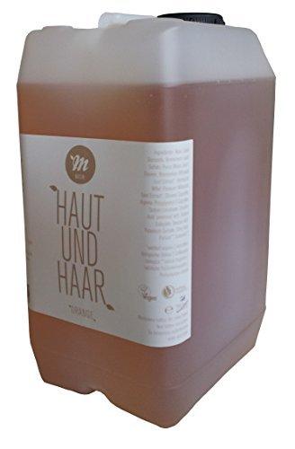 BIO Haut & Haar Shampoo - Duschgel - Seife - Konzentrat von Uni Sapon - chemiefrei - umweltschonend - zertifiziert - natürliche Inhaltsstoffe - Vegan, Größe:3 L