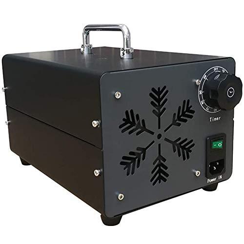 YLEI Generador De Ozono Comercial, ozonizador, 10000 MG/H Industrial Ozon Purificador De Aire, Ozonisator con Temporizador para Habitaciones, Humo, Coches Y Animales Domésticos