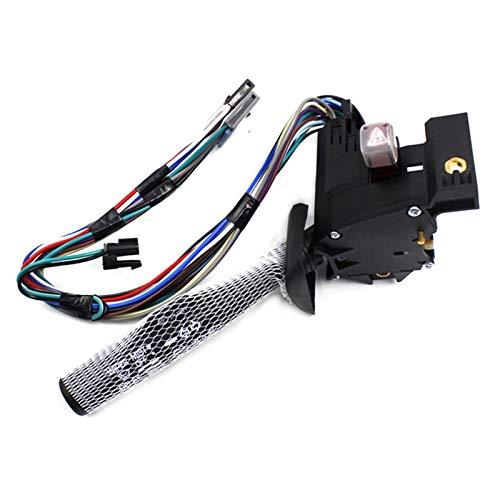 KCSAC Interruptor de la palanca del limpiaparabrisas de la señal de giro Fit para Chevrolet Astro Express 26083628