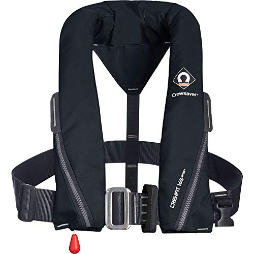 Great Features Of Crewsaver Crewfit 165N Sport Lifejacket - Harness Auto - Black - 9715A