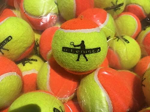 Bola de Beach Tennis Estagio 2 Kit Com 7 unidades