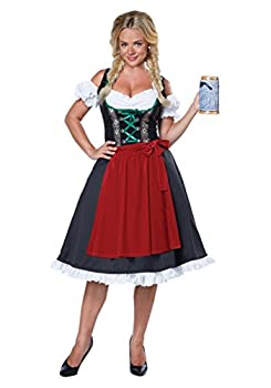 California Costumes Women s Oktoberfest Fraulein Costume Multi Large