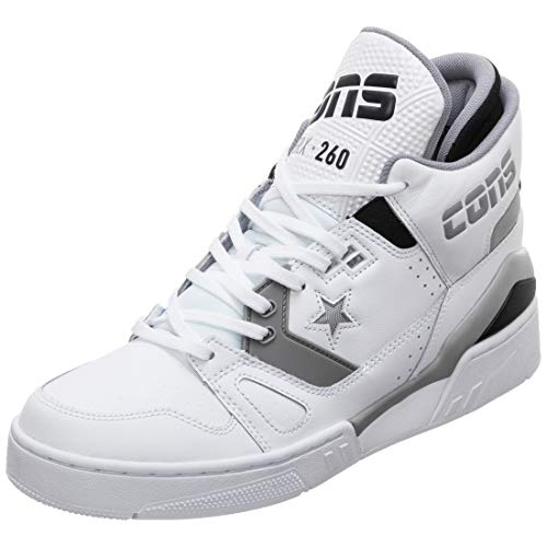 Converse ERX 260 Mid Sneaker Heren wit/grijs, 10.5 VS - 44,5 EU - 9.5 UK