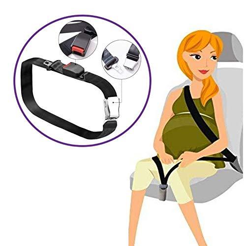 Cinturon de seguridad para embarazadas. Anclaje para cinturon de coche perfeto para evitar lesiones al feto.