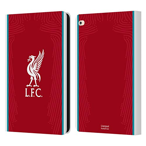 Official Liverpool Football Club Home 2020/21 PU Leather Book Wallet Case Cover Compatible For Apple iPad Air 2 (2014)