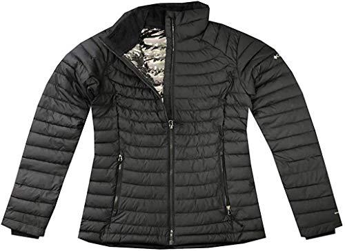Columbia Women's White Out ll Omni Heat Jacket Puffer (XS, Black)