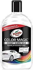 Turtle Wax 52712 Color Magic Pulido Y Brillo para Pintura Bianca Blanca 500Ml