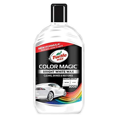 Turtle Wax TW52712 Magic Cera de Color, Blanco, 500 ml