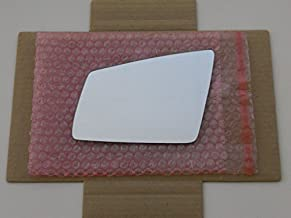 HEATED Mirror Glass with BACKING PLATE for MERCEDES-BENZ C CL E GLK S CLASS Driver Side View Left LH