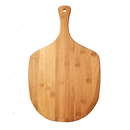 ERWEF Holzgriff mit Pizza Brett, Pizza-Kuchen Backblech Werkzeug, kann auch als Schneidebrett verwendet Werden