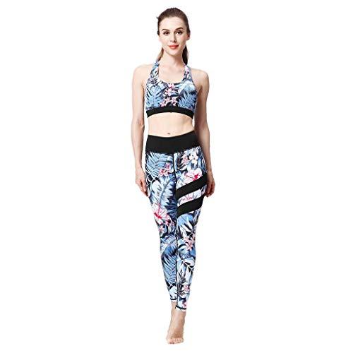 Dames Hoge Taille Bedrukt Yoga Broek Leggings Kleding,Elastisch Fitness Training Joggingbroek Voor Sport Sportschool