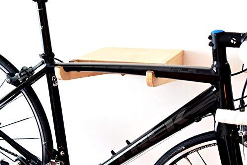 Fahrradhalter Wand / Fahrrad Wandhalterung / Fahrradhalter / Fahrradzubehör / Fahrradständer aus Holz / TEIXO EICHE