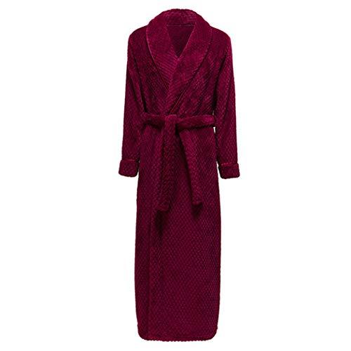AXIANQIPJS De beste aanbiedingen fleece hemden van dikke en zachte stof met capuchon, pluizige badjas voor het hele lichaam met lange mouwen.
