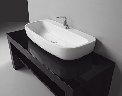Waschbecken Flaminia Flug lavabo100appoggio-sospeso Keramik mn100l