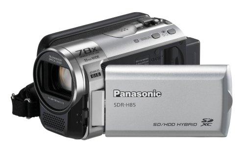 Panasonic Videocam Sdr-H85Eg-K Hd80Gb+Sd Silv