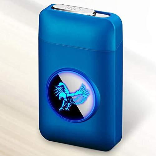 Bias&Belief Caja De Cigarrillo con Encendedor 2 En 1 Caja De Cigarrillos...