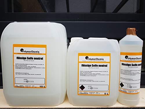 Flüssige Seife Neutral - ohne Parfüm und Farbe (10 Liter Kanister)