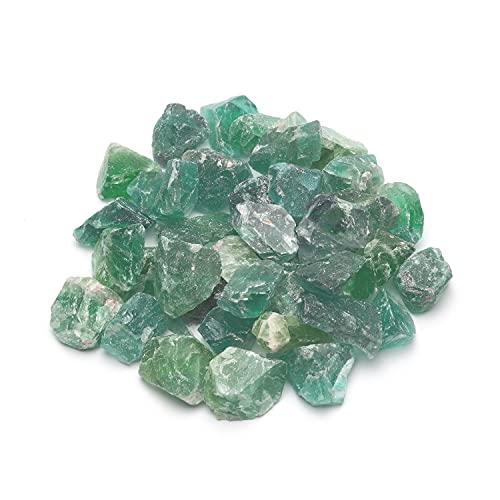 Premium Edelsteine Set | 100% naturbelassene Rohsteine | Vielseitige Verwendung als Wassersteine zur Wasseraufbereitung, Heilsteine, Chakrasteine oder Brunnensteine | 350g sortenreine Kristalle