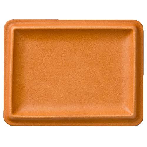 colm (コルム) レザートレイ Lサイズ 小物入れ キャッシュトレイ オーバーナイター 本革 日本製