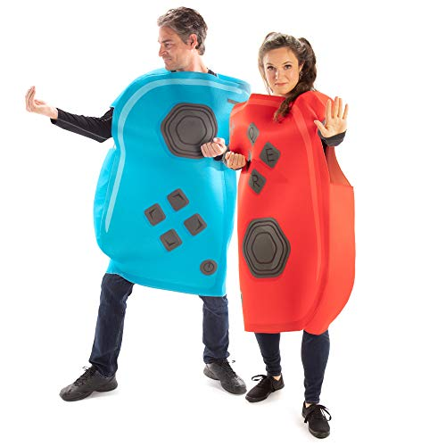 Joyful Controllers Couples Halloween Costume - Unisex Adult Video Game Outfits