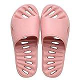 ypyrhh Sandalias con Punta Abierta Mujer,Pareja de Pantuflas de baño, Mute Soft Tow-Pink Powder_36 / 37,Sandalias de Playa Plataforma Zapatilla
