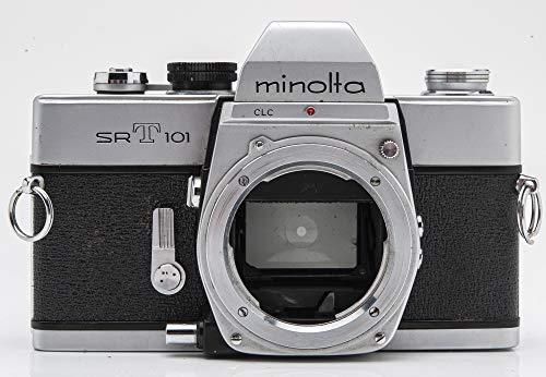 Minolta SRT101 Gehäuse Body Spiegelreflexkamera SLR Kamera (Gehäuse ohne Objektiv/Body Without Lens)