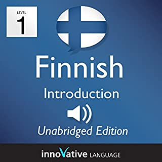 Learn Finnish: Level 1 - Introduction to Finnish, Volume 1: Lessons 1-25 audiobook cover art