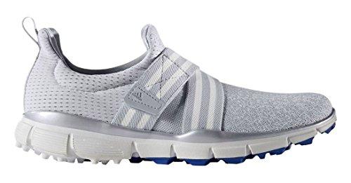 adidas W Climacool Knit Zapatos de Golf para Mujer, Blanco/Gris, 34.6