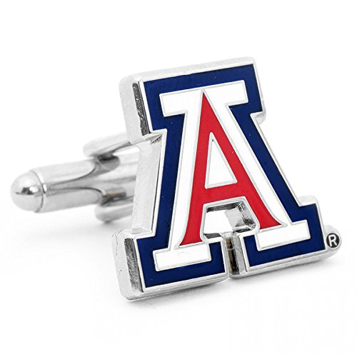 University of Arizona Wildcats Cufflinks - NCAA College Athletics Sports Themed Formal Wear