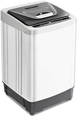 Portable Washing Machine 12 6 lbs Capacity Fully Automatic Compact Washer and Spin Dryer 1 54 product image