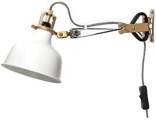 IKEA Ranarp - Foco con pinza en color blanco marfil