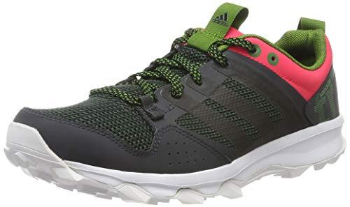 adidas Kanadia 7 TR W, Zapatillas de Running Mujer, Gris/Negro/Rojo (Griosc/Negbas/Rojimp), 38