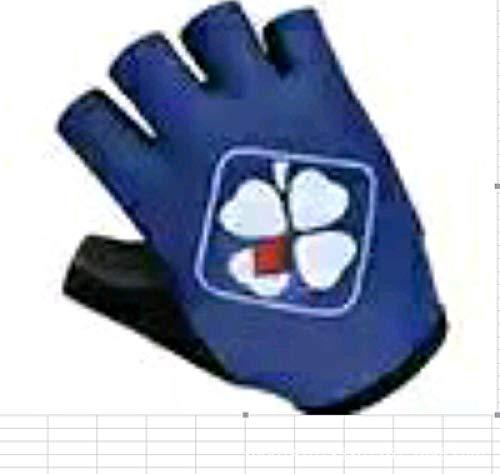 guantes ciclismo Guantes para montar en bicicleta de montaña guantes de medio dedo para motocicleta todoterreno MX equipo de montaña guantes deportivos al aire libre Lycra guantes antideslizantes-27_M