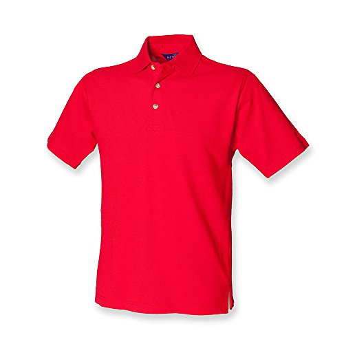 Henbury - Polo - Homme - Rouge - L