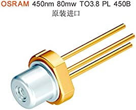 3.8mm TO38 OSRAM 445nm 450nm Blue Laser Diode LD PL-450B 80mW Original Package