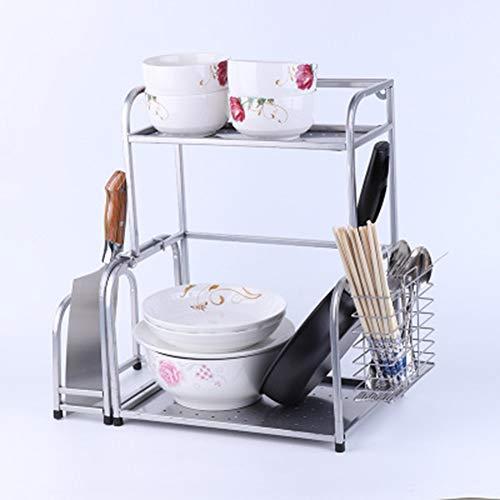 TISESIT INDOOR Stapelbarer Küchenorganisator - Geschirr- Und Gewürzregal Für Schrank, Vorratskammer, Schrank - Aufbewahrungsregal Für Becher, Tasse