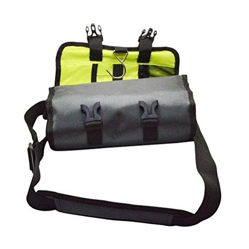 LEDMOMO Sac de stockage de voyage de caméra vidéo de rouleau imperméable à l'eau Sac à bandoulière portatif pour le héros de GoPro 4 3 1