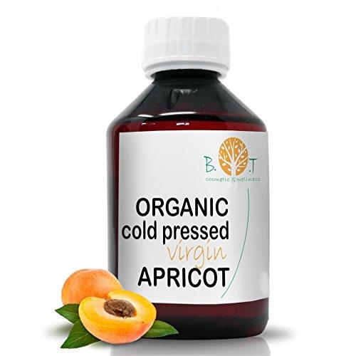 Huile de Noyau d'Abricot Organique Pressée à Froid (100 ml)