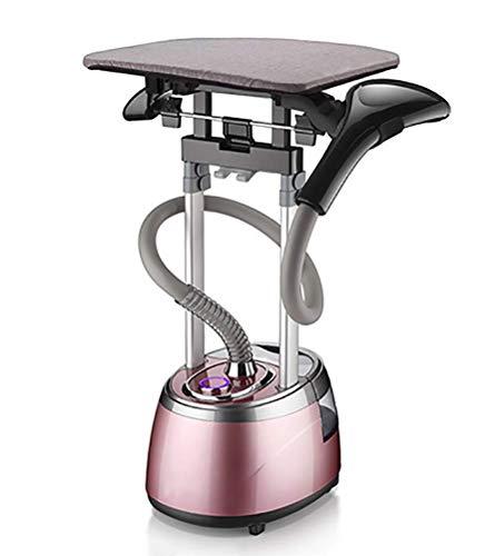 Rei Dampfglätter, Vertikale Garment Steamer 2.5L 2000W Vertikal Und Glatt Bügeleisensysteme Haushalt Kleidung Dampfer,Pink
