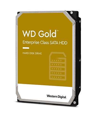 Western Digital 2TB WD Gold Enterprise Class Internal Hard Drive - 7200 RPM Class, SATA 6 Gb/s, 128...