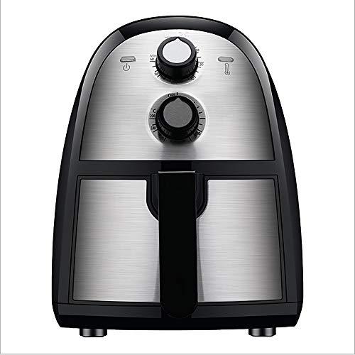 N / A Heißluftfritteuse, Airfryer, Smart Fryer, Test GUT, Frittieren ohne Öl, Timer und Vollständig Einstellbarer Temperaturregelung, 3,5 Liter Volumen, 1500 Watt