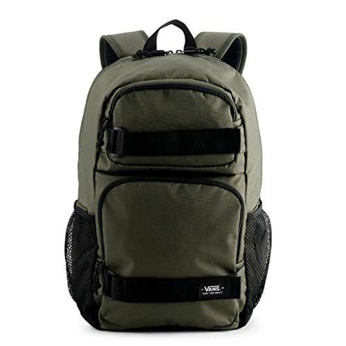 VANS Skates Pack 3 B Laptop School Student Backpack Bag (Green/Black)