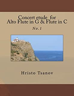 Concert etude for Alto Flute in G and Flute in C: No.1