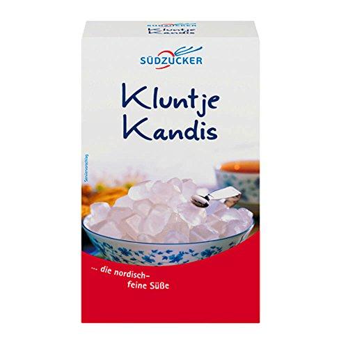 Südzucker Kluntje Kandis, weißer Kandiszucker, 1er Pack (1 x 1kg)