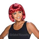 Bristol Novelty BW886 Elegante Pagenkopf Perücke, Rot, Passion Red, Einheitsgröße