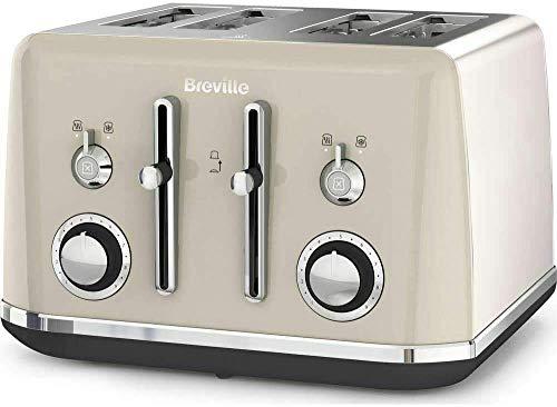 BREVILLE Mostra VTT930 4-Slice Toaster - Cream