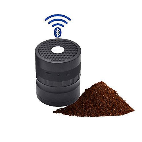 SRFDD Macinazione del polline del Tabacco, smerigliatrice elettrica e Altoparlante Bluetooth,...