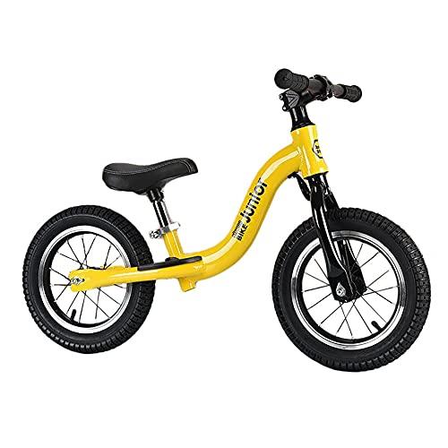 Bicicleta Equilibrio Bicicleta de Equilibrio para Niños - Marco Ligero de Aluminio, Bicicleta de Entrenamiento para Niñas Principiantes, Edad 2-4-6-8-10 Años, Neumáticos de 12/14in ( Size : 12 Inch )